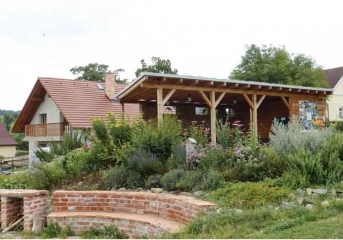 Údržba přírodní zahrady v Horní Krupé